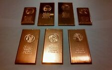 Liquidating per pound .999 Fine Copper Bars or Ingots dated 2011