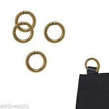 "NEW Miche Accessories Brass 1"" Carabiner Set of 4"