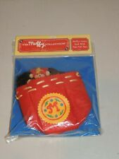 North American Bear Company Santa'S Workshop Muffy'S Santa Sack With 4 Felt Toys