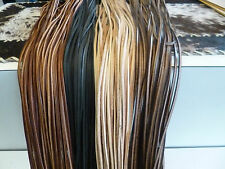 Lederriemen Lederband Fettleder Rindsleder Vierkant 200cm x3 mm 4 versch. Farben
