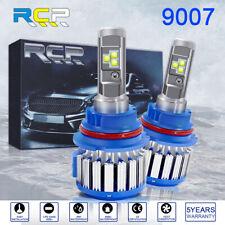 9007 Hb5 Cob Led Headlight Bulbs Kit 6000K White High Low Beam Light Bulb Us(Fits: Neon)