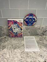 CIB Just Dance 2017 (Nintendo Wii, 2016) COMPLETE IN BOX