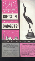 Mastercraft Gifts & Gadgets Catalog 1960s From All Over the World