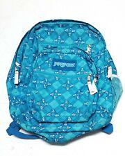 JanSport TDN7 Backpack Big Student Skulls Black 5 Pockets & Mesh Bottle Pocket
