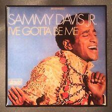 Sammy Davis Jr I've Gotta Be Me Coaster Custom Ceramic Tile