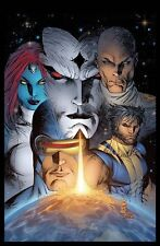 X-MEN MESSIAH COMPLEX POSTER  Marvel Storm Wolverine 2007 Silvestri OOP NEW