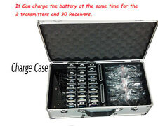 Wireless tour guide system,meeting,visit,training,30 receivers with Charge Case