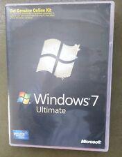 Windows 7 Ultimate 32/64 bit OS 100% autentica al dettaglio