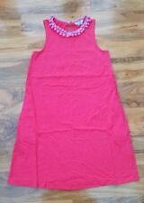 Boden Ladies GORGEOUS Pink Melody Jersey Dress UK 6. WW281 Excellent condition