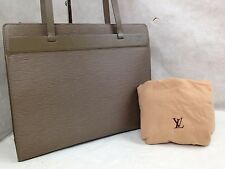 Authentic Louis Vuitton Epi Vanilla Croisette PM Tote Bag 5i290880p