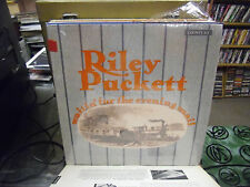 Riley Puckett Waitin' For The Evening vinyl LP Country Records EX IN Shrink