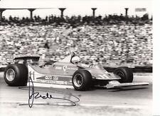 Jody Scheckter Hand Signed Scuderia Ferrari F1 9x6 Photo 2.