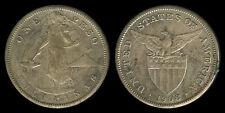 1 Peso 1908-S US-Philippine Silver Coin