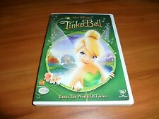 Tinker Bell (DVD, Widescreen 2008) Used Disney Tinkerbell Animated