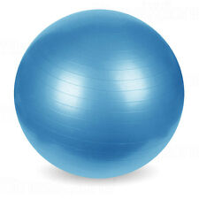 Exercise Gym Yoga Swiss Ball Fitness Pregnancy Birthing Anti Burst 65cm Blue