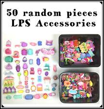 Littlest Pet Shop Lot 50 Big Accessories : House, Kennel, Cars, Boat...