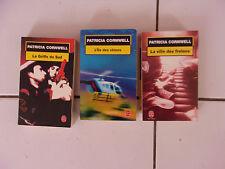 lot Patricia CORNWELL série complète Judy Hammer et Andy Brazil - 3 livres