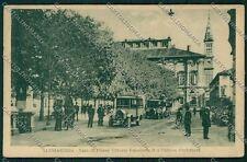 Alessandria città PIEGHINA cartolina QK0482