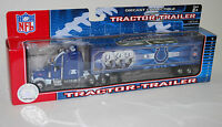 NFL Football Semi Truck Tractor Trailer Hauler Collectible Indianapolis Colts