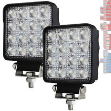 2x Hella LED Arbeitsscheinwerfer S2500 großflächige Ausleuchtung 2500lm 12V 24V