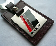 Audi Quattro RS4 RS6 RS8 RS S Line Sport Car Motorsport Racing Key Chain Ring