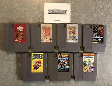 Lot Of 7-NES Nintendo Video Games Bard's Tale-Romance Of The Three Kingdoms-More