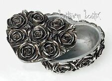 Goth : Alchemy The Vault Boite Bijoux Coeur Roses Rose Heart Box Gothique