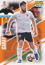 492 EZEQUIEL GARAY ARGENTINA VALENCIA.CF BASE CARD CARTA MGK 2018 PANINI