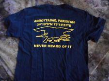 US NAVY SEAL TEAM 6 Bin Larden Raid Pakistan T SHIRT DEVGRU NSW UDT BLACK OPS