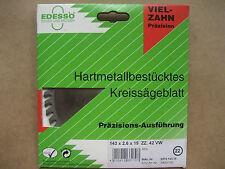 HM Kreissägeblatt Handkreissägeblatt Edessö 140 x 2,6 x 19 mm, Z. 42 VW