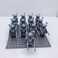 13x Jango Fett Mandalorian Trooper Mini Figures (LEGO STAR WARS Compatible)