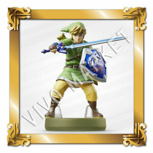 Japan Nintendo amiibo Link  The Legend of Zelda ( Skyward Sword ) Figure