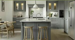 Clarendon Painted In-Framed Kitchen, Rigid Built Traditional Kitchen, 32 colours