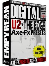 U2 The Edge Axe-Fx Ultra Standard ULTIMATE Guitar Presets Library Mac Windows