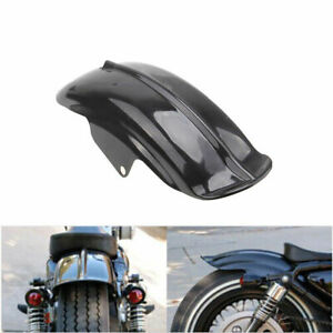1x Motorcycle Rear Mudguard Fender Accessory fit Bobber Racer Harley Cafe Racer