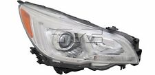 TYC NSF Right Side Headlight Assembly for Subaru Legacy 2015-2016 Models