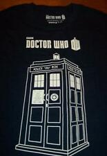 DOCTOR WHO PHONE BOOTH BOX BBC T-Shirt SMALL NEW