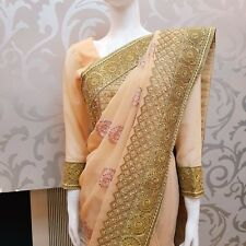 indian saree. Heavy stone work