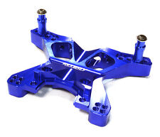 C26398BLUE Integy Billet Machined Front Shock Tower for Traxxas 1/10 Slash 4X4
