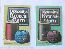 Baumhüter Bindegarn 1950 altes Pappschild Kalender Reklameschild Werbeschild