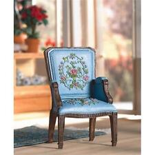 Dolls House Emporium 12th Scale Pretty Blue George III Armchair (5744)