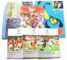 Champions League Final Football Programme Collections/Bulk Lots