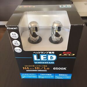 Koito LED bulb white beam H4 2 pieces 6500K P214KWT New F/S from Japan (1000)