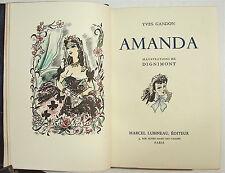 GANDON (Yves). Amanda. Illustrations de Dignimont - Exemplaire numéro 1