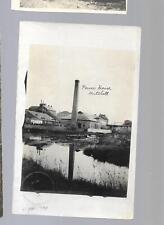 pk28532:Real Photo Postcard-Power House,Mitchell,Ont   Bridgeburg & Goderich RPO