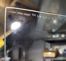 """Used Tiffen 4x4"""" Black Pro-Mist 1/8 Glass Filter Promist MFR # 44BPM18"""