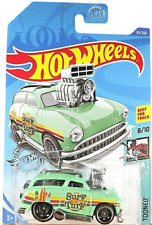 SURF 'N TURF Green 2020 Hot Wheels 83/250 Tooned Best for Track  8/10