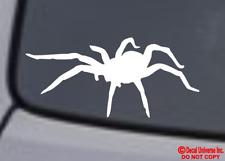 Wolf Spider Vinyl Decal Sticker Car Window Wall Bumper Creepy Arachnid Insect