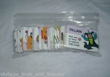 31 Power Puff Girls Board Game Replacement Cards Saving World Before Bedtime