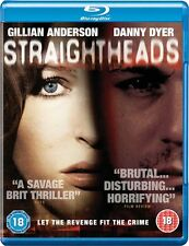 New Sealed Straightheads Blu-Ray Disc Gillian Anderson Danny Dyer REGION B